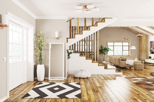 Great Design Ideas for a Space Saving Staircase