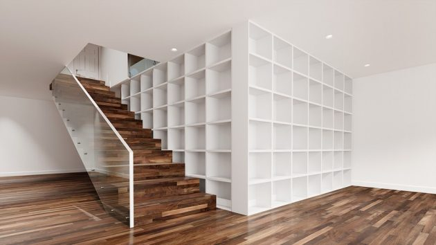 Great Design Ideas for a Space-Saving Staircase