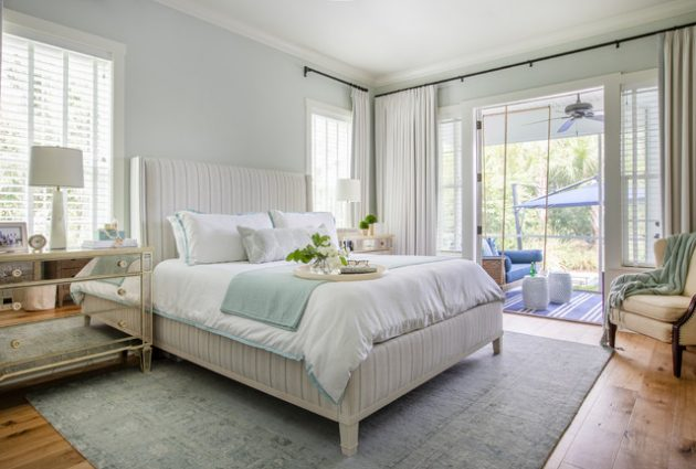 16 Attractive Beach Style Bedrooms That Are Ideal For Summer