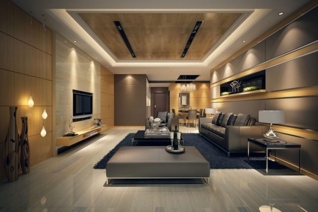 16 Attractive Living Room Designs For All Tastes