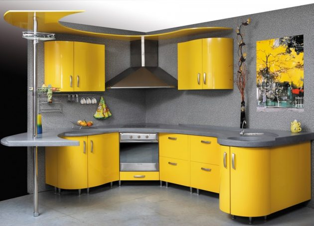 10 Marvelous Yellow Kitchen Designs That Will Amaze You