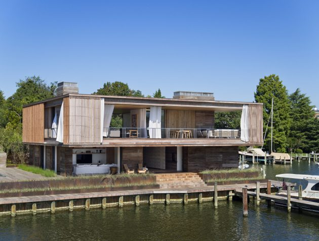 Acton Cove House by Bates Masi + Architects in Annapolis, Maryland
