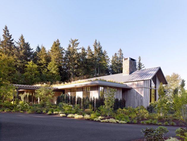Country Garden House by Olson Kundig in Potland, Oregon