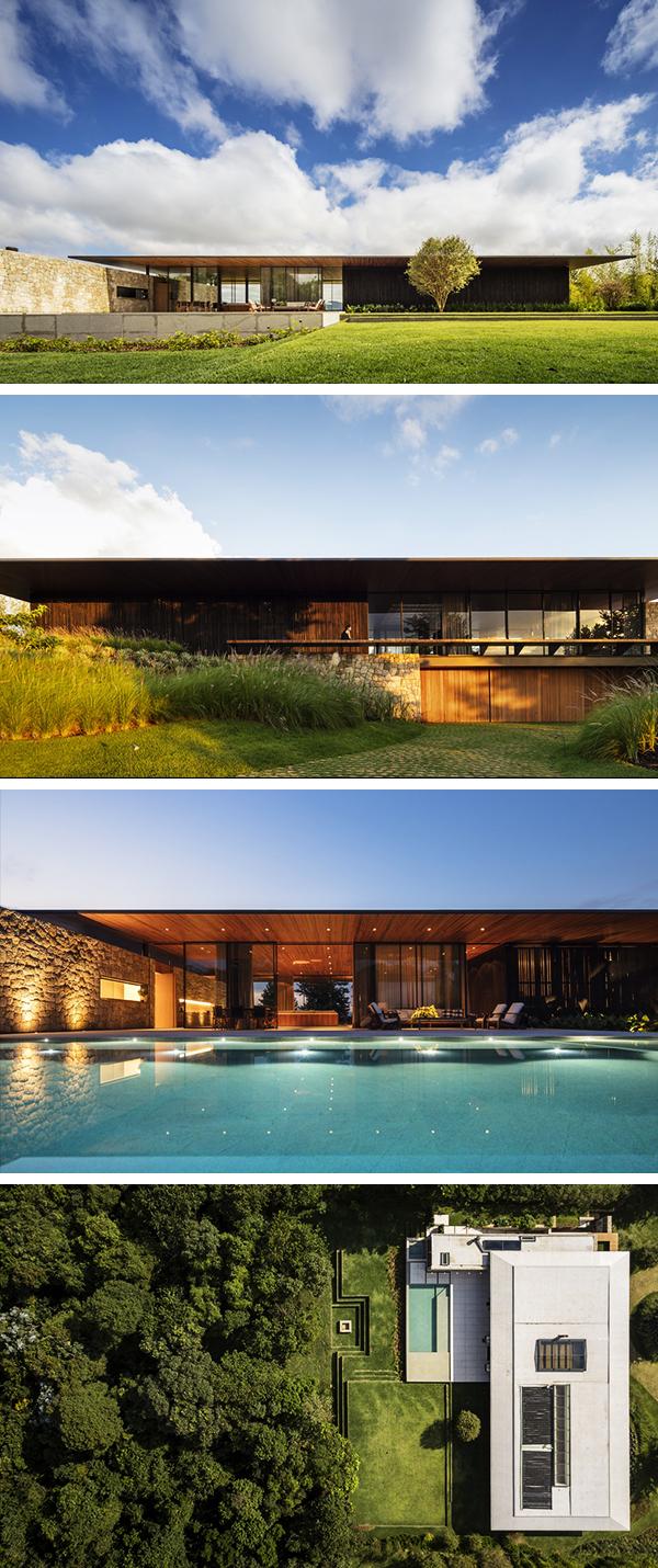 FL House by Jacobsen Arquitetura in Braganca Paulista, Brazil