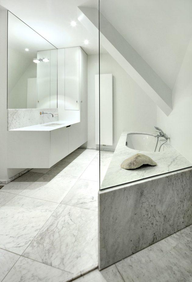 House VDV by Graux & Baeyens Architects in Destelbergen, Belgium
