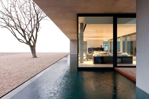Obumex Outside by Govaert & Vanhoutte Architects in Staden, Belgium