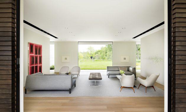 Preston Hollow Residence by Bodron+Fruit in Dallas, Texas
