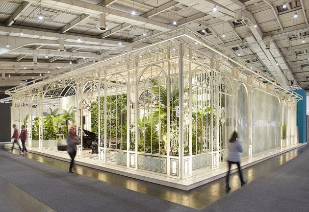 Tropicana by Yerce Architecture in Hannover, Germany
