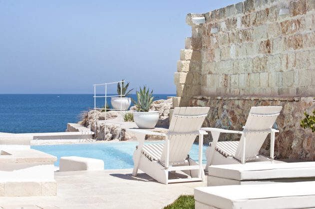 The Mediterranean Breeze Refined in a Charming Hotel in Italy