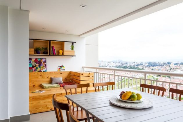 The Most Inspiring Gourmet Balconies Decorated in Homes and Apartments