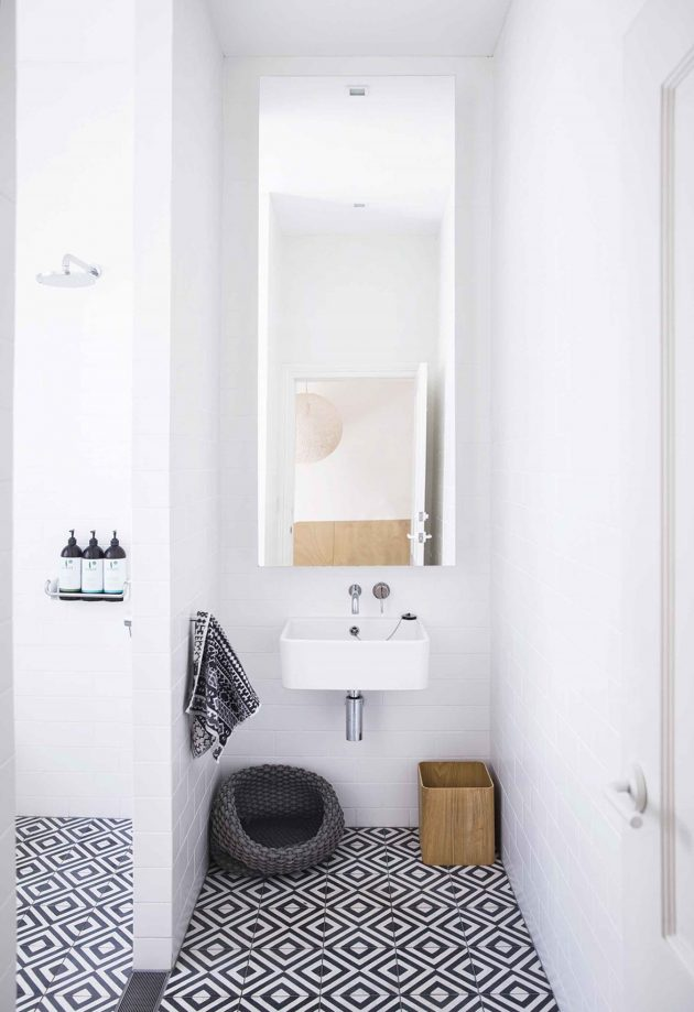 Bold Ideas That Can Help You for a Better Use of Patterned Tiles in Your Bathroom