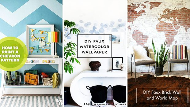 15 Amazing DIY Wall Finish Ideas For An Elegant Faux Look