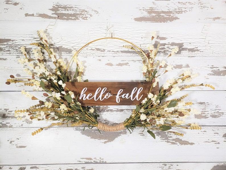 15 Charming Handmade Fall Wreath Designs To Greet The Season