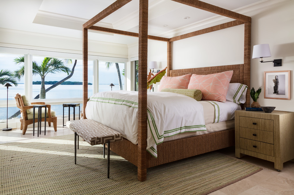 14 Dreamy Tropical Bedroom Interiors Youll Fall In Love With