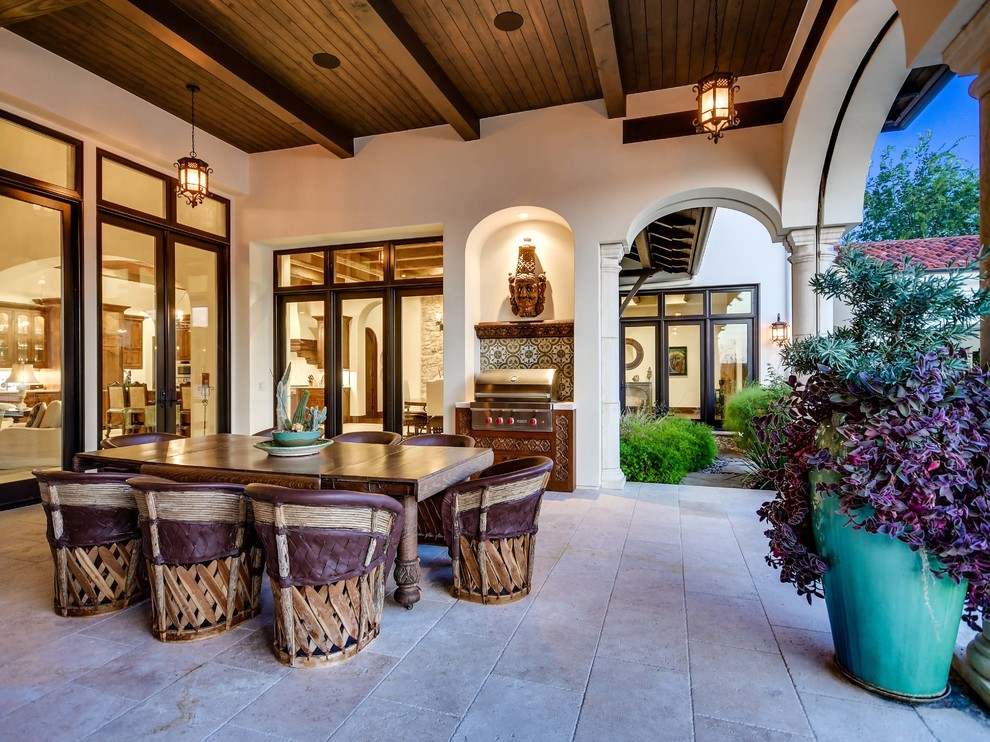 15 Jaw Dropping Mediterranean Patio Designs That Will Take