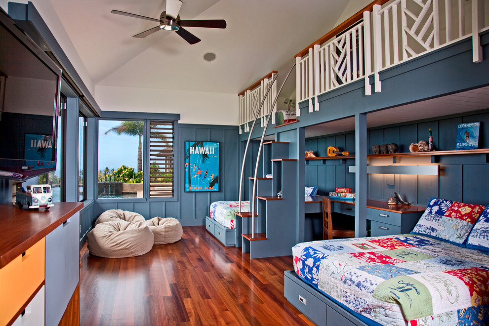 15 Joyful Tropical Kids Room Designs For The Little Ones