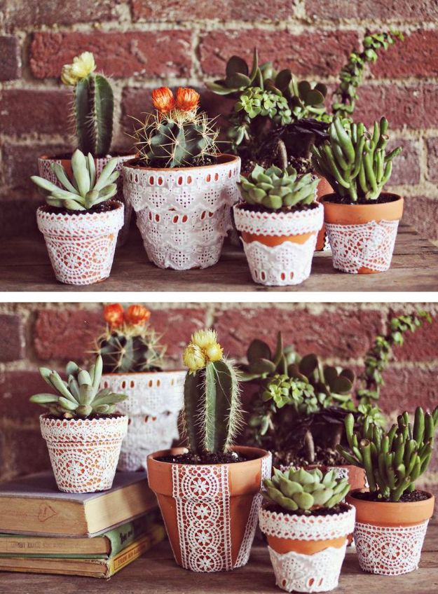 15 Super Cool DIY Ways To Make Your Planters Less Boring