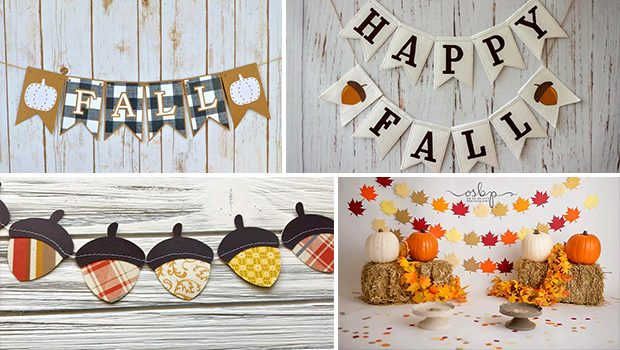 16 Adorable Handmade Fall Banner Designs To Boost Your Seasonal Decor