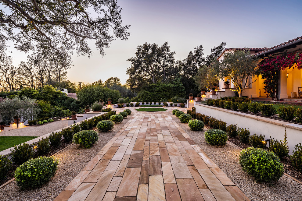 16 Spectacular Mediterranean Landscape Designs You'll Fall In Love With