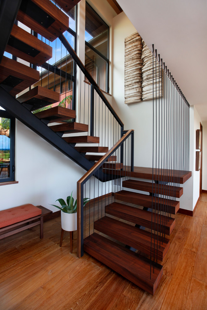 16 Stunning Tropical Staircase Designs For Your Beach Villa