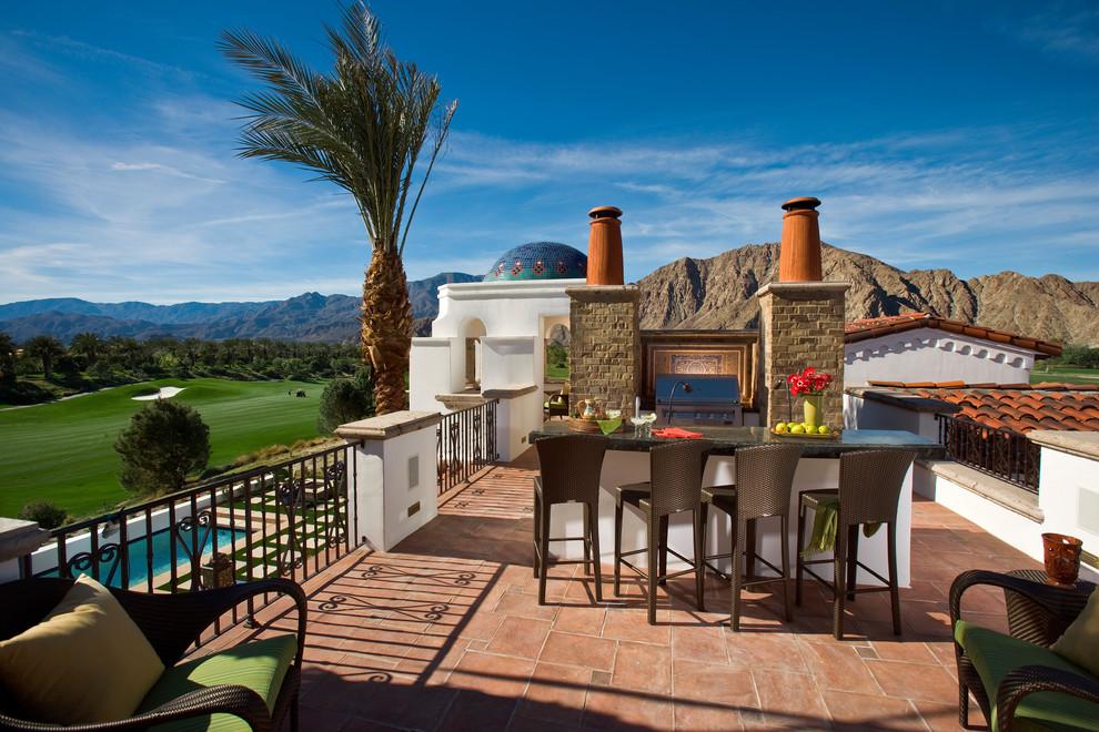 17 Splendid Mediterranean Deck Designs For Pure Enjoyment