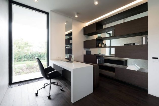 16 Brilliant Home Offices Decorated In Modern Style