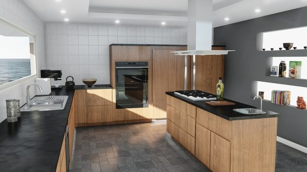 Contemporary Kitchen Lighting - Dispatch Light Exactly Where You Need It Most