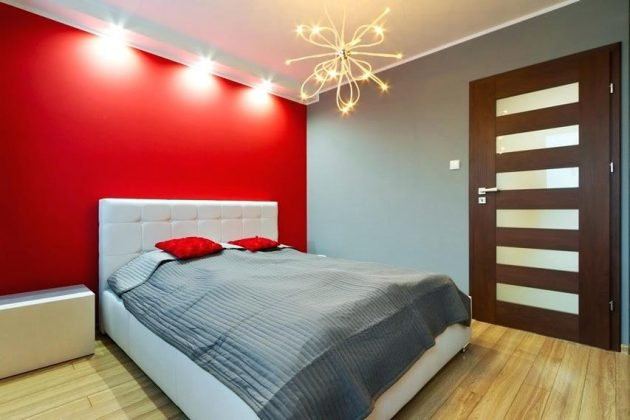 10 Attractive Ideas With Red To Enter Diversity In The Bedroom