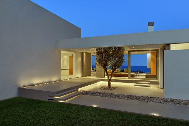 Ammoudi House by Katerina Valsamaki Architects in Zakynthos, Greece
