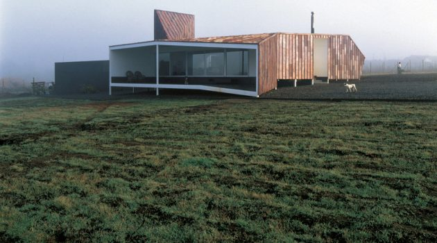 Copper House 2 by Smiljan Radic in Talca, Chile