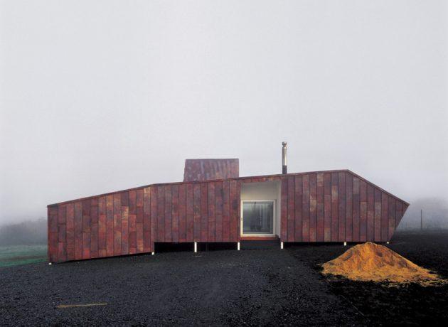 Copper House 2 by Smiljan Radic in Talca, Chile