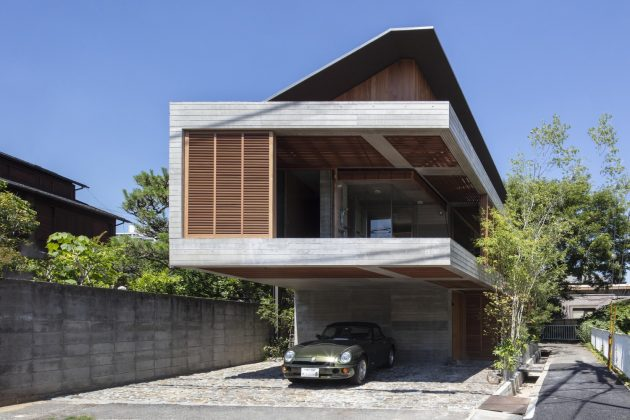 Fuseika House by T-Square Design Associates in Japan