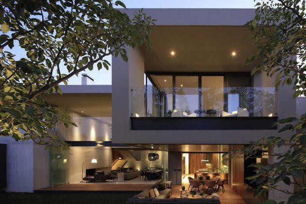 HNN House by Hernandez Silva Architects in Zapopan, Mexico