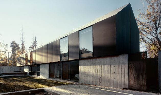 House I by Thiermann Cruz Arquitectos in Santiago, Chile