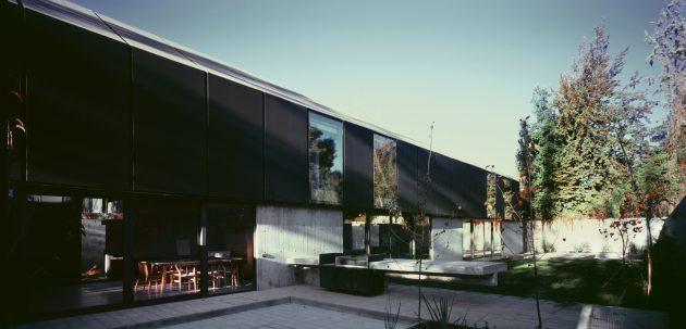 House I by Thiermann Cruz Arquitectos in Santiago, Chile