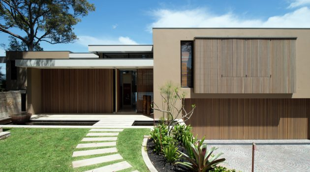 Hudson Parade House by Corben Architects in Sydney, Australia