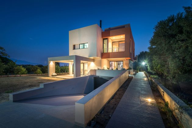 IS House by Barlas Architects in Nafpaktos, Greece