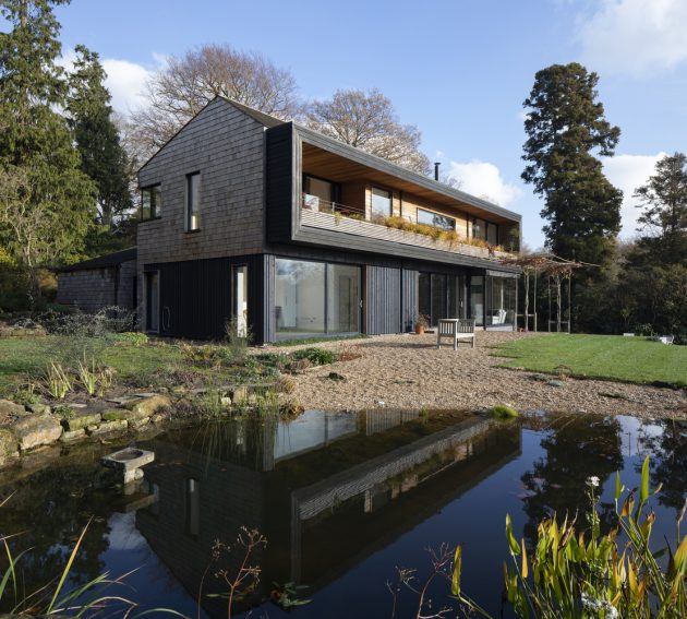 Lane End House by PAD Studio in East Sussex, England