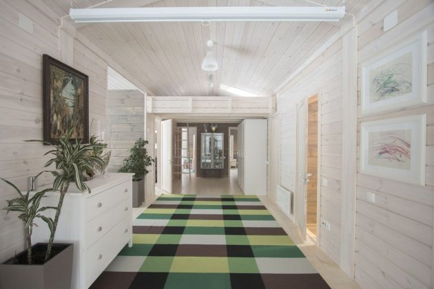 Modular House DublDom by BIO architects in Moscow, Russia