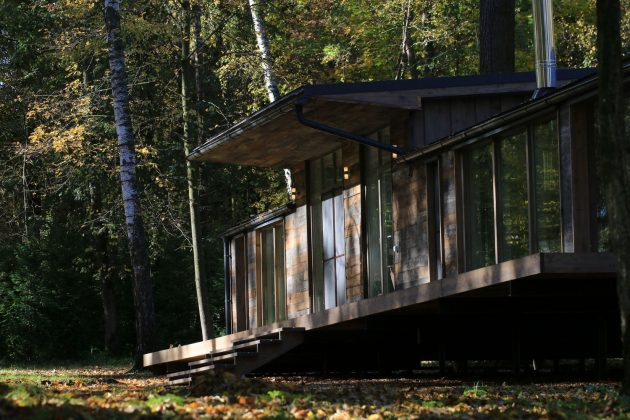 Modular House DublDom by BIO-architects in Moscow, Russia