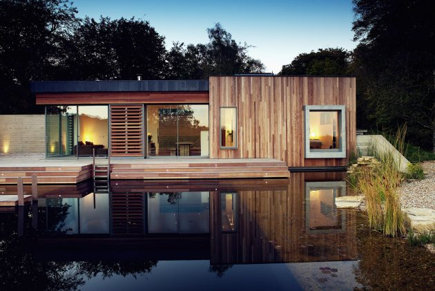 New Forest House by PAD Studio in Hampshire, England