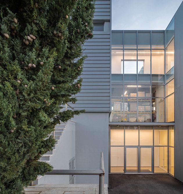 PRF's Headquarters by Impare Arquitectura in Leiria, Portugal