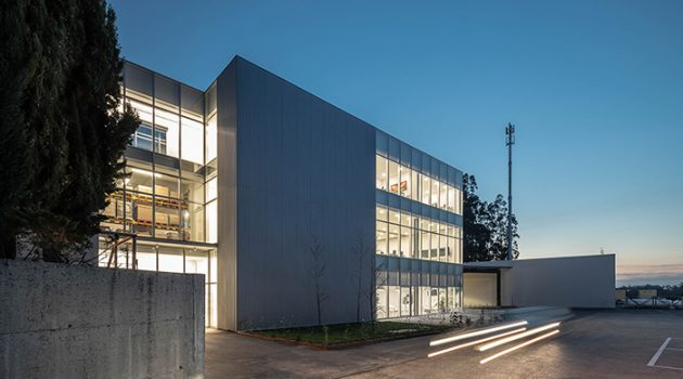 PRF's Headquarters by Impare Arquitectura in Leiria, Portugal