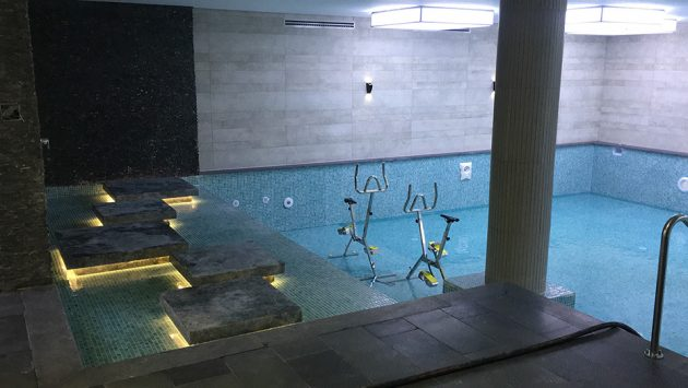 Spa & Indoor Pool for the Football Players BJK NEVZAT DEMIR FACILITY