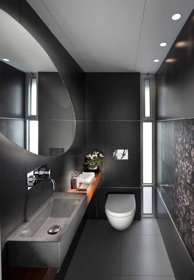 10 Small Decorated Washrooms for Your Bathroom
