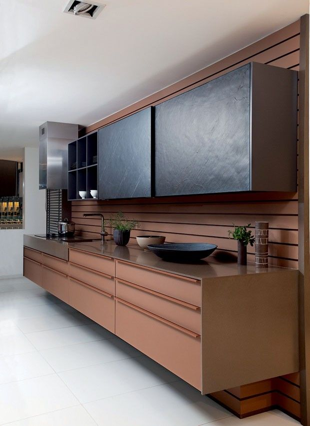 10 Amazing Designs of Brown Kitchens with Earthy Tones for Your Home