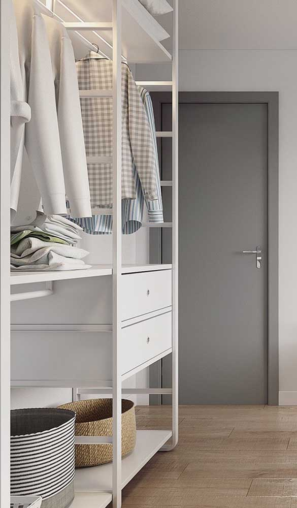10 Most Functional and Beautiful Open Wardrobes for Your Home