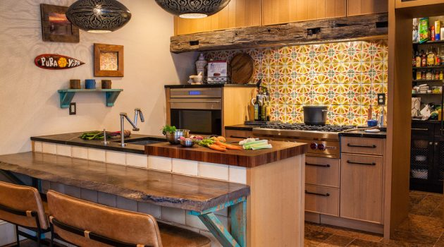 15 Lovely Eclectic Kitchen Designs You'll Fall In Love With