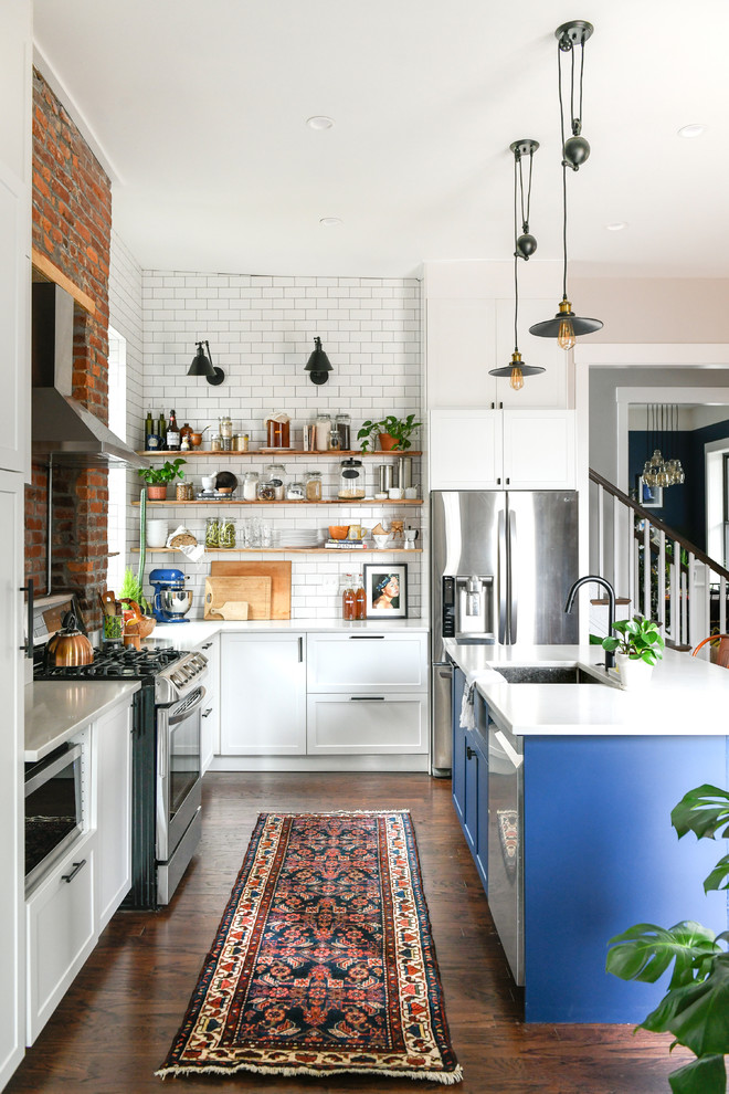 15 Lovely Eclectic Kitchen Designs Youll Fall In Love With