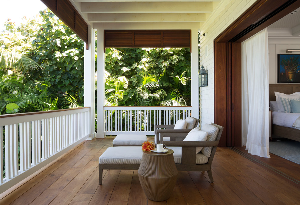 16 Absolutely Breathtaking Tropical Balcony Designs You Will Adore